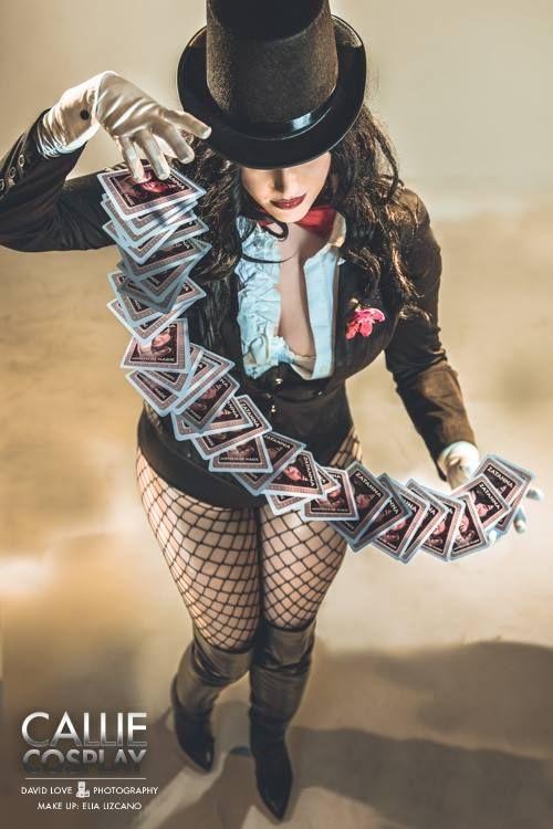 Character: Zatanna Zatara / From: DC Comics 'Justice League Dark' & DCAU's 'Justice League Unlimited' / Cosplayer: Leah Burroughs (aka Callie Cosplay) / Photo: David Love Photography (truefd)
