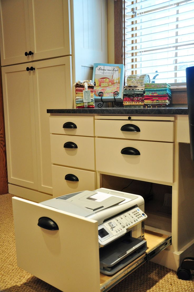 Hidden Printer Cabinet 14 Best Images About Home Office On Pinterest Plugs Shelves And