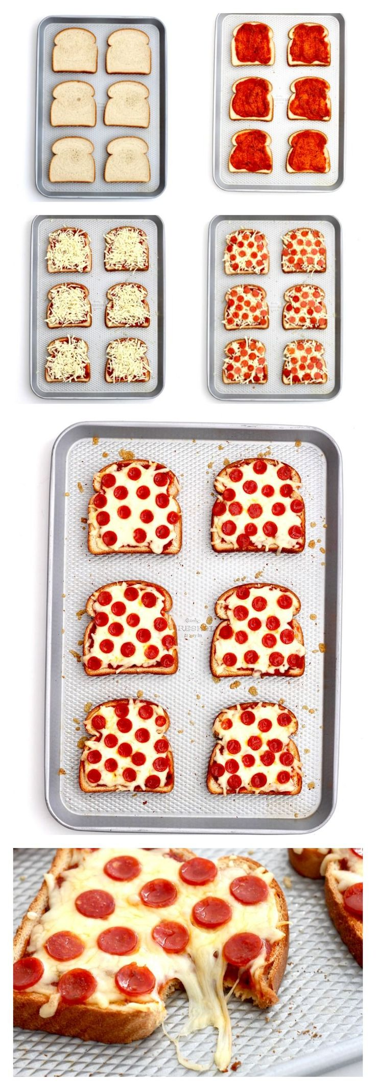 Quick and easy pizza toast is one of our favorite recipes to make for a busy weeknight dinner or a satisfying after-school snack. Everyone loves them! If you follow me on Instagram, you know that I make pizza toast several times a week. We all love pizza, but sometimes I just don't have the time …