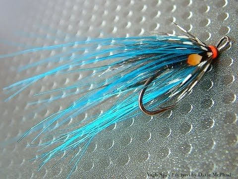 Tying the Nagli Spey Salmon Fly) with Davie McPhail - YouTube