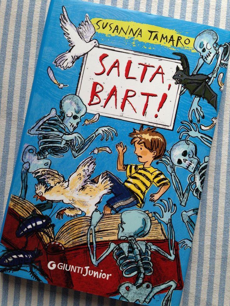 Salta, Bart! Un mondo in pericolo salvato da un bambino coraggioso e da una gallina: il nuovo libro per bambini di Susanna Tamaro. Una riflessione sulla nostra società dominata dalla tecnologia e all'ossessiva ricerca del benessere.