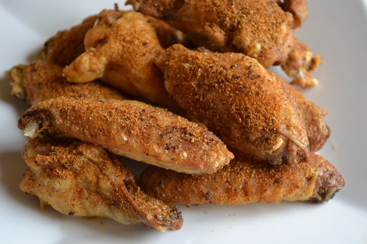Baked Old Bay Wings