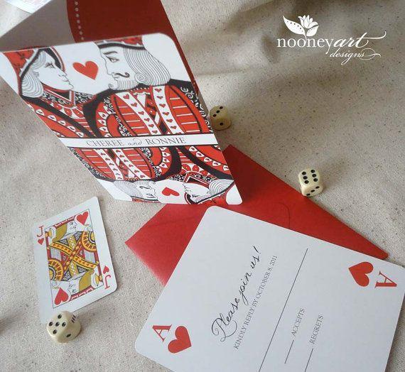 themed wedding invitations