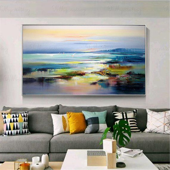 Gold Art Abstract Painting Wall Art Picture For Living Room Etsy In 2021 Abstract Canvas Painting Abstract Painting Abstract Art Painting