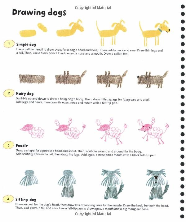 How to Draw Dogs from 365 Things to Draw and Paint (Activity Books): Fiona Watt