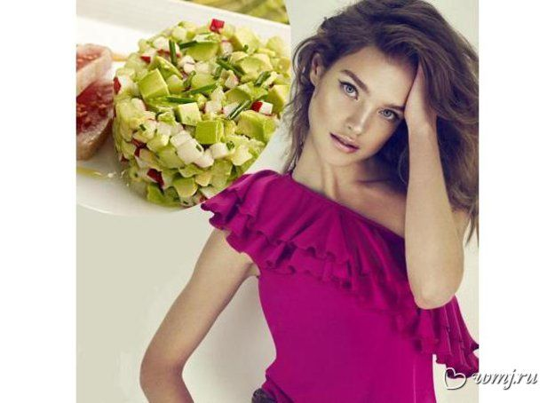 Диетический салат от Натальи Водяновой