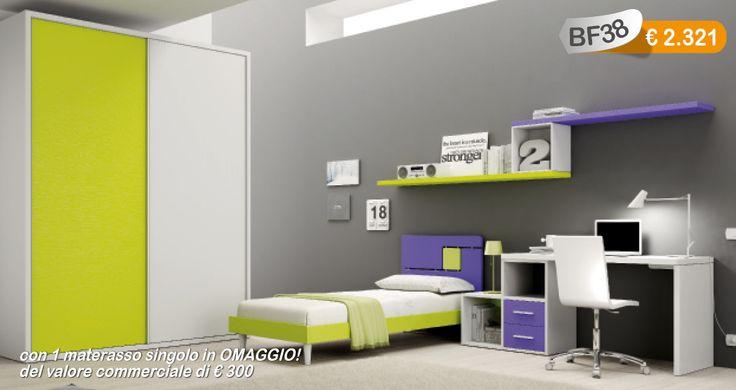 #camerette #moretti #salerno #design #arredamento