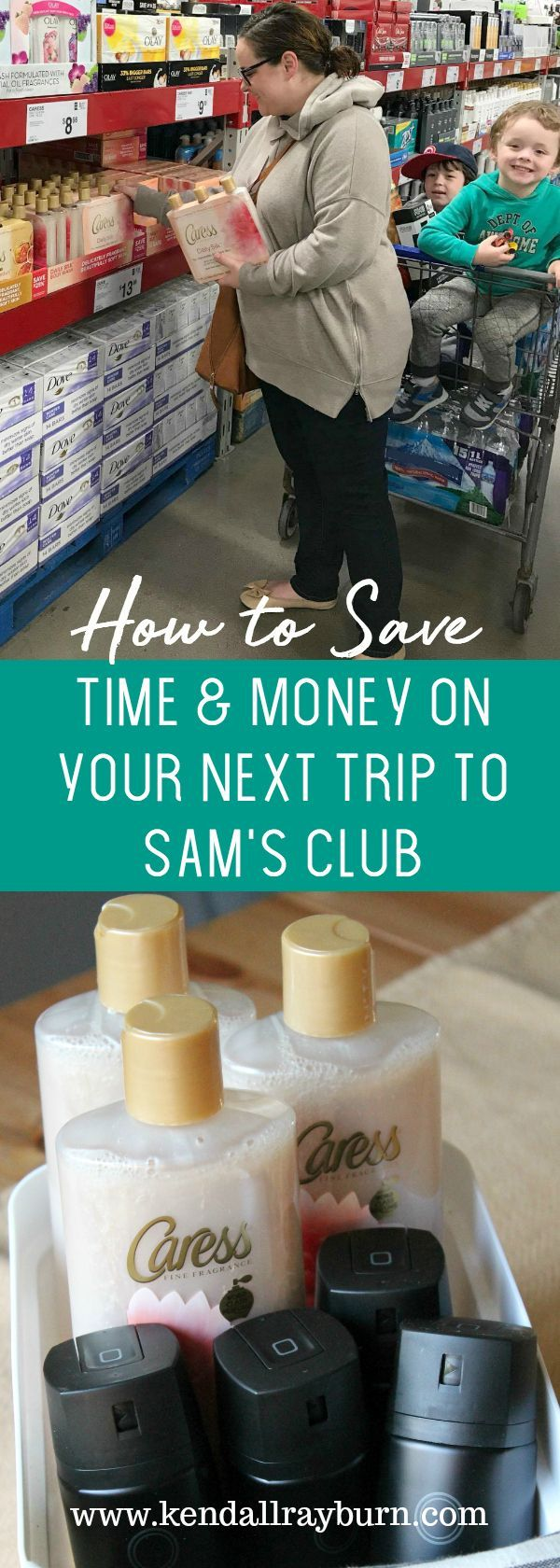 #ad  How to Save Time & Money on Your Next Trip to Sam's Club. #BetterTogetherSC @AXE @Caressb