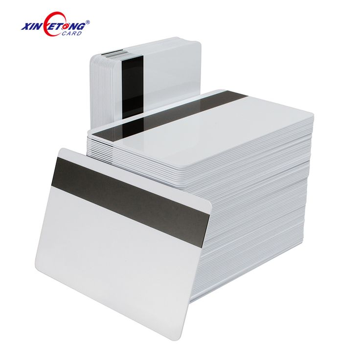 Hico Magnetic Stripe and Classic s50 chip Dual-Interface Inkjet Cards