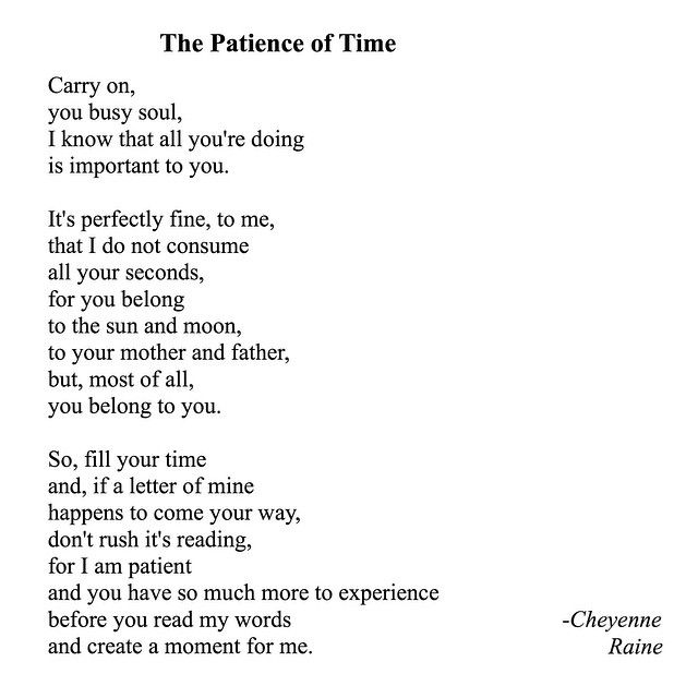 Instagram Media By Rainepoetry   The Patience Of Time / Itu0027s Okay To Be A  Busy Bee, Especially When Someone Is Patient Enough To Wait For A Spare  Moment ...