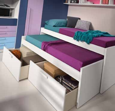 18 best CAMAS NIDO images on Pinterest | Nests, Trundle beds and Wood