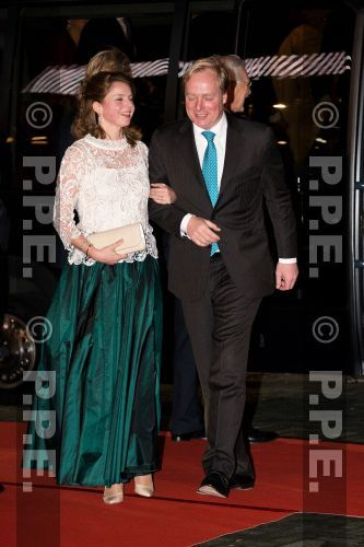 Noblesse & Royautés:  Dutch Royal Family attended a celebration of the reign of Princess Beatrix in Rotterdam, February 1, 2014-Duke and Duchess of Parma