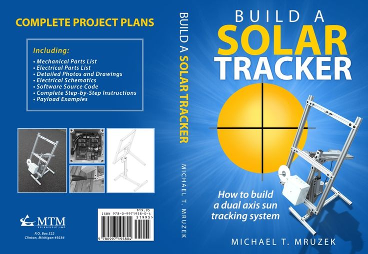 Book Cover: Build a Solar Tracker