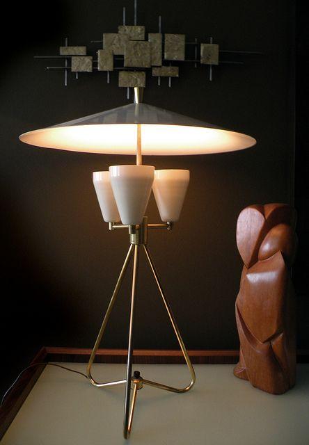 1950s modernist lamp mid century modern - Mid Century Modern Furniture Of The 1950s