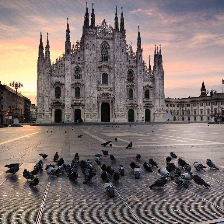 The most beautiful cathedral I've ever been to. It is absolutely breathtaking!  Love Milano!!!