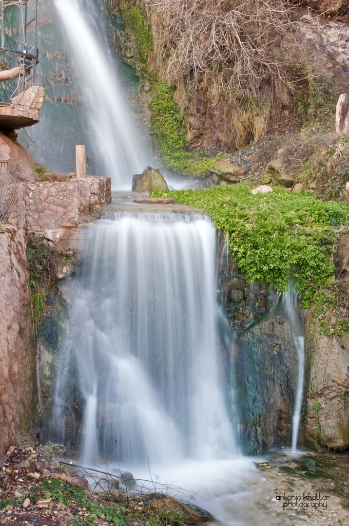 LEBANON, BSHERRI WATERFALLS