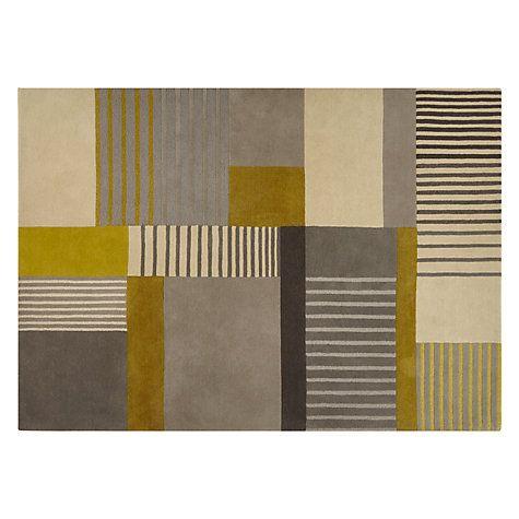 buy john lewis hesta rug citrine online at. Black Bedroom Furniture Sets. Home Design Ideas