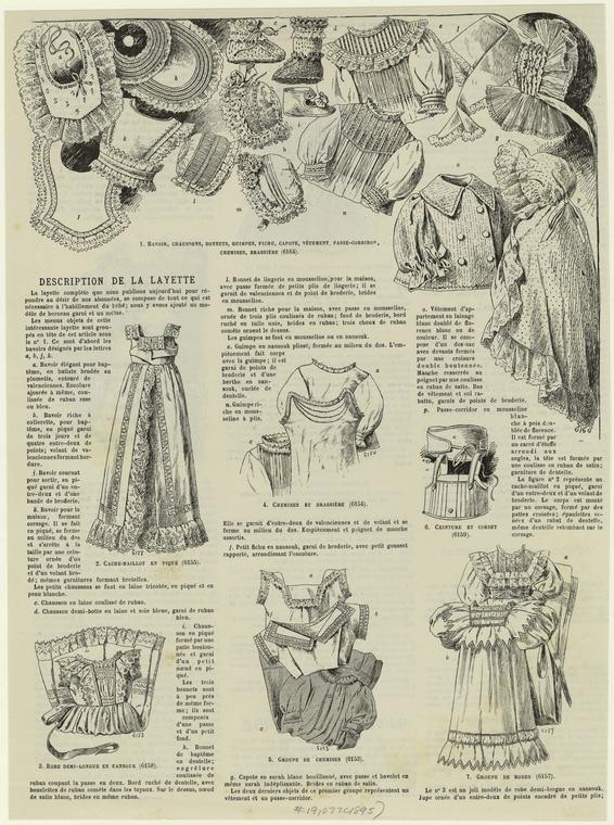 1895 layette