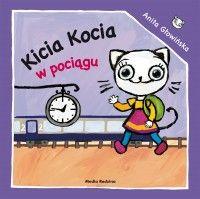 Kicia Kocia w pociągu - Anita Głowińska - Książka - Księgarnia internetowa Bonito.pl