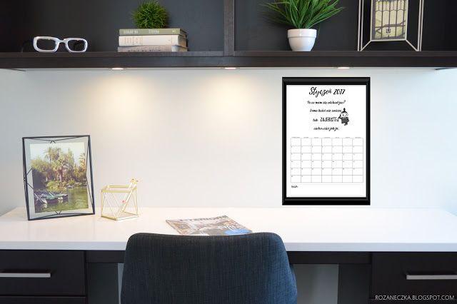 kalendarz z małą mi, do druku, free printable calendar little my