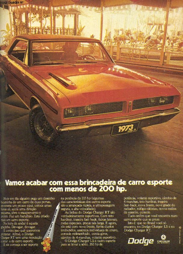 Charger RT 73