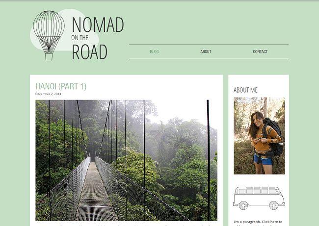Travel Blog Template de Site - WIX 2014-06-09 10-37-13