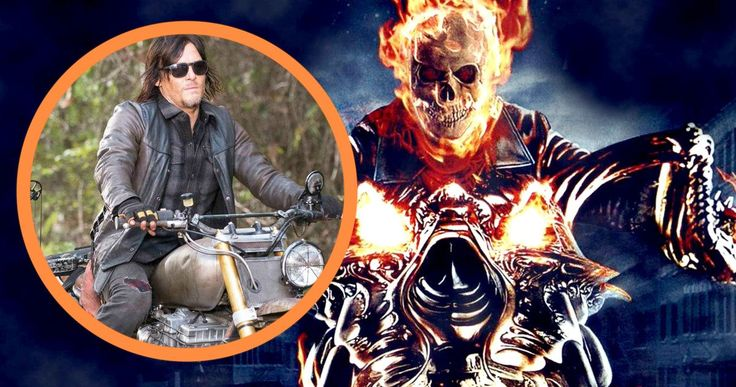 Walking Dead Star Norman Reedus Wants to Play Ghost Rider -- Norman Reedus enthusiastically proclaims that he should star in a Ghost Rider reboot for Marvel. -- http://movieweb.com/ghost-rider-movie-reboot-norman-reedus-marvel/