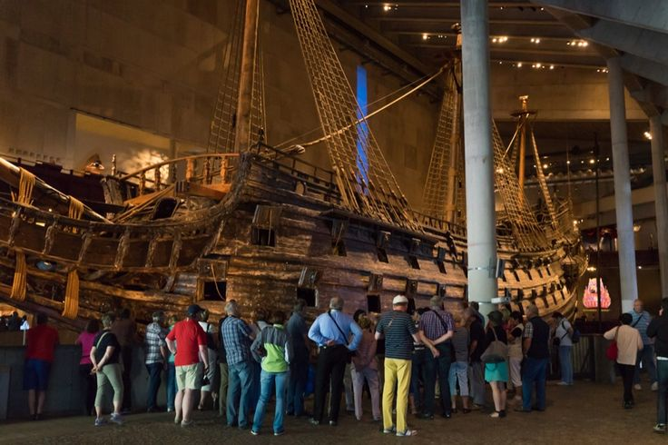 Die Vasa im Vasa Museum