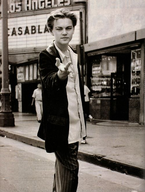 Leonardo DiCaprio, probably around the time he filmed Basketball Diaries.  His best movie in my opinion.