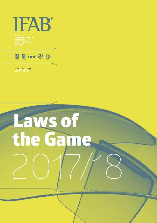 Download the Laws of the Game 2017-2018 on my blog to keep up-to-date http://www.dutchreferee.com/laws-of-the-game-2017-2018/