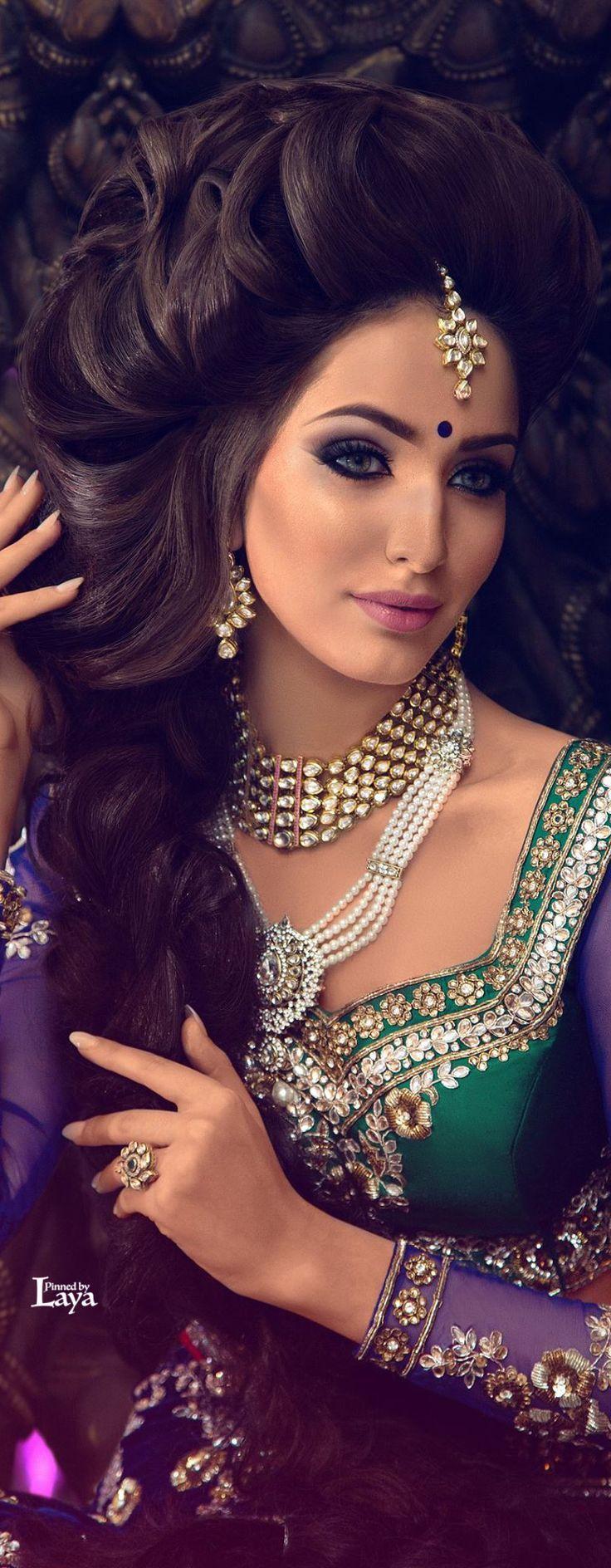 new Indian Bridal makeup photos 2015 1254