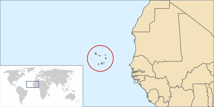 Location Cape Verde ◆Kaapverdië - Wikipedia http://nl.wikipedia.org/wiki/Kaapverdi%C3%AB #Cape_Verde