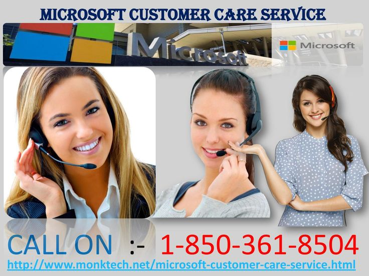 Is Microsoft Customer Care Service 1-850-361-8504 a reliable way to fix issues? Yes, we provide the absolute solutions in tackling down the technical issues at a reasonable cost. To get assistance from our Microsoft Customer Care Service team, call us right now at our toll free number 1-850-361-8504 and we deliver the top notch solutions within the least time interval, at your door step. For More information :- http://www.monktech.net/microsoft-customer-care-service.html Microsoft Customer…