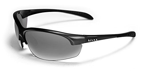 Maxx Sunglasses Domain Black Frame Polarized Smoke Lenses ** Details can be found by clicking on the image.