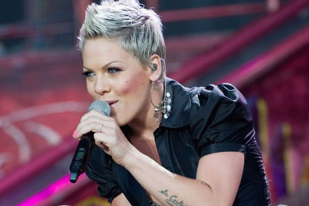 Singer Pink Short Hairstyles | 10 Things You Didn't Know About Pink