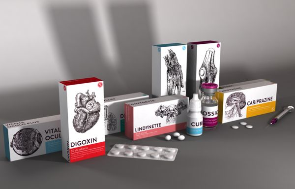 MEDICINE PACKAGE by LUCA PATKOS, via Behance