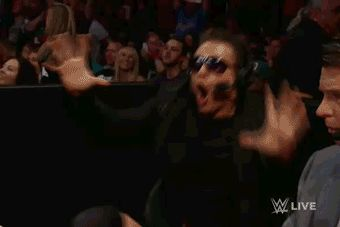 this gonna be me when hear roman reigns theme music when he comes back or when I hear deans or my favourite divas