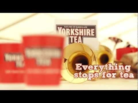 Behind the scenes of the Yorkshire Tea advert - great example of a social brand connecting their brand and the people behind it.