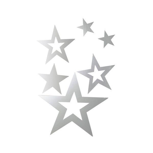 Stickers miroir étoiles Galaxie