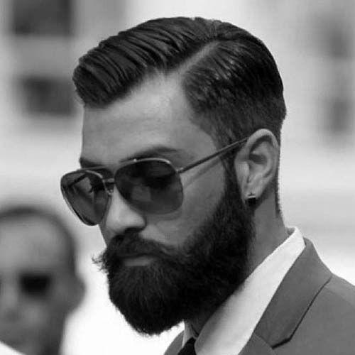 Dapper Haircut - Classic Side Part