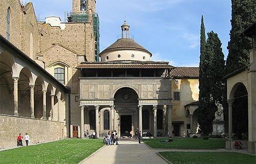 Kaplica Pazzich przy kościele Santa Croce, ok. 1430