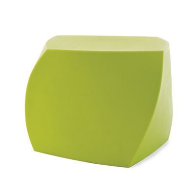 Frank Gehry Left Twist Cube - for fire pit, comes in lots of colors, $250 Available at Room & Board and Lumens, too, same price