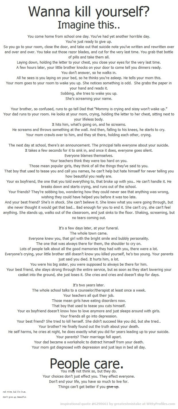 I fucking cried at this. And for me, that means something. Don't make your loved ones cry like I did.