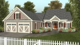 image of The Small Country Cottage House Plan
