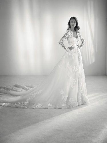 vestidos de novia atelier pronovias   la moda me enamora   pinterest