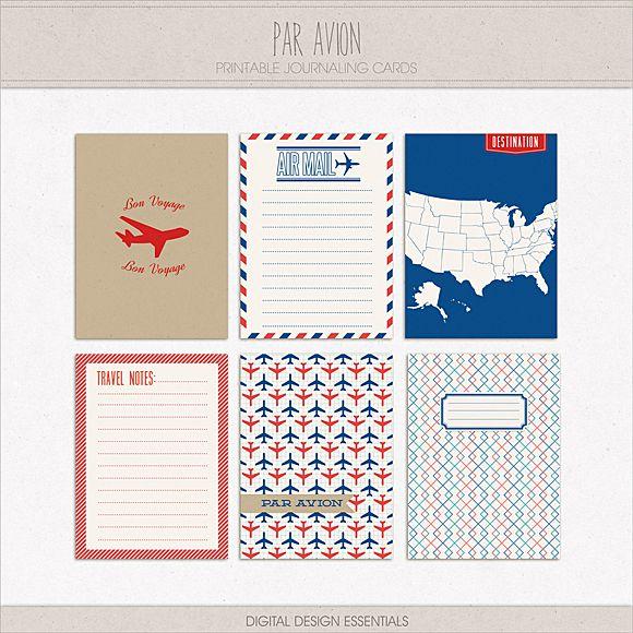Inspired by Air Mail Correspondence + FREEBIE | Digital Design Essentials