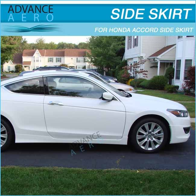 FOR 08 09 10 HONDA ACCORD COUPE 2DR OE STYLE PU SIDE BODY KITS
