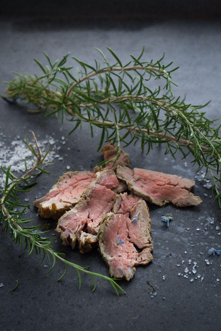 Roast beef facilissimo in oliocottura - Cardamomo & co #glutenfree #oliocottura #roastbeef