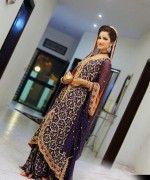 Pakistani Full Sleeve Wedding Dresses 2014 002 150x180 for women local brands fashion news