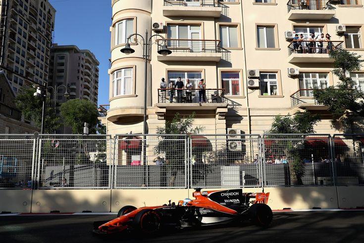 Fernando Alonso no GP do Azerbaijão e os primeiros pontos da McLaren em 2017
